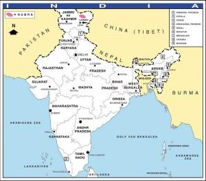 kaart-india